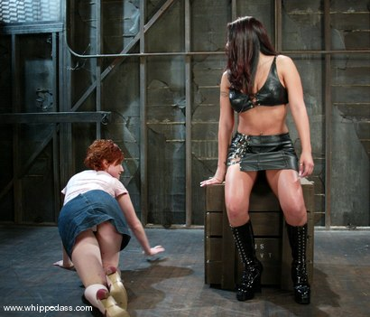 Photo number 1 from Jenaveve Jolie and Cherry shot for Whipped Ass on Kink.com. Featuring Jenaveve Jolie and Cherry in hardcore BDSM & Fetish porn.