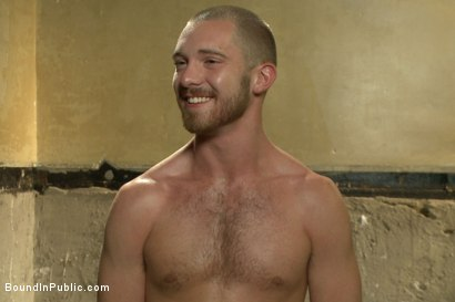 Photo number 15 from Southern stud gets fucked and showered with cum in front of 100 men! shot for Bound in Public on Kink.com. Featuring Hayden Richards, Jordan Foster and Connor Maguire in hardcore BDSM & Fetish porn.