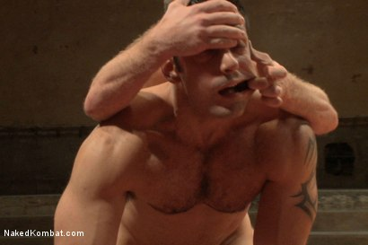 Photo number 10 from Summer Smackdown's Last Quarter Final Match! - David and Goliath Bout shot for Naked Kombat on Kink.com. Featuring Doug Acre and Marcus Ruhl in hardcore BDSM & Fetish porn.
