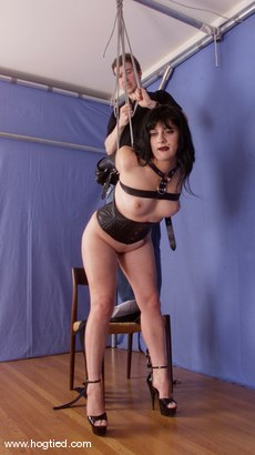 Photo number 7 from Carly shot for Hogtied on Kink.com. Featuring Carly in hardcore BDSM & Fetish porn.