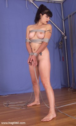 Photo number 12 from Carly shot for Hogtied on Kink.com. Featuring Carly in hardcore BDSM & Fetish porn.