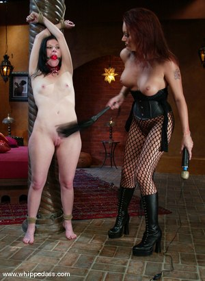 Photo number 9 from Ariel X and Monica Mayhem shot for Whipped Ass on Kink.com. Featuring Monica Mayhem and Ariel X in hardcore BDSM & Fetish porn.