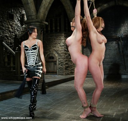 Photo number 2 from Sasha Sparks, Sandra Romain and Christina Carter shot for Whipped Ass on Kink.com. Featuring Sasha Sparks, Sandra Romain and Christina Carter in hardcore BDSM & Fetish porn.