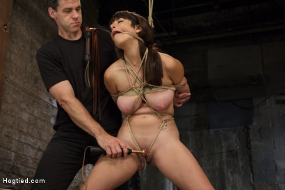 Photo number 11 from Smashing Brand New Big Tits, Beautiful Pussy shot for Hogtied on Kink.com. Featuring Nina Lopez in hardcore BDSM & Fetish porn.