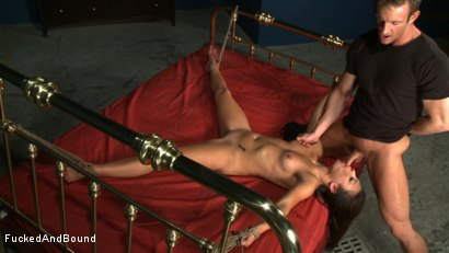 Photo number 14 from Choking on Cock shot for  on Kink.com. Featuring Jayna Oso and TJ Cummings in hardcore BDSM & Fetish porn.