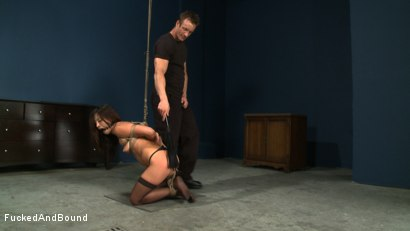 Photo number 17 from Choking on Cock shot for  on Kink.com. Featuring Jayna Oso and TJ Cummings in hardcore BDSM & Fetish porn.