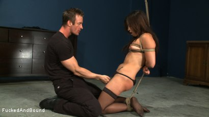Photo number 18 from Choking on Cock shot for  on Kink.com. Featuring Jayna Oso and TJ Cummings in hardcore BDSM & Fetish porn.