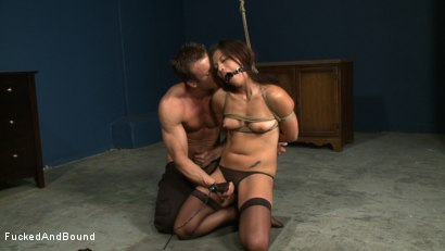 Photo number 3 from Choking on Cock shot for  on Kink.com. Featuring Jayna Oso and TJ Cummings in hardcore BDSM & Fetish porn.