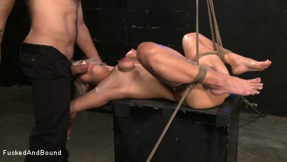 Photo number 4 from Finding Jasmine shot for Fucked and Bound on Kink.com. Featuring Jasmine Jolie and Sascha in hardcore BDSM & Fetish porn.