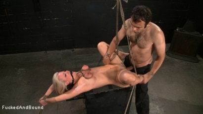 Photo number 7 from Finding Jasmine shot for Fucked and Bound on Kink.com. Featuring Jasmine Jolie and Sascha in hardcore BDSM & Fetish porn.