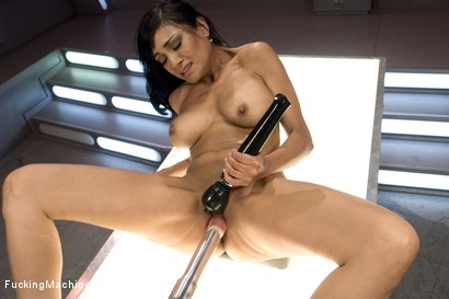 Photo number 13 from The Loaded Gun of Porn: Beretta James shot for Fucking Machines on Kink.com. Featuring Beretta James in hardcore BDSM & Fetish porn.