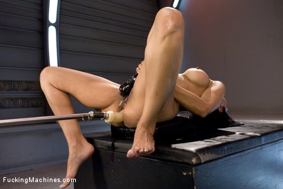 Photo number 8 from The Loaded Gun of Porn: Beretta James shot for Fucking Machines on Kink.com. Featuring Beretta James in hardcore BDSM & Fetish porn.