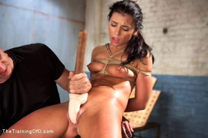 Photo number 7 from The Training of a Model or a Slave? Day One shot for The Training Of O on Kink.com. Featuring Adriana Chechik in hardcore BDSM & Fetish porn.