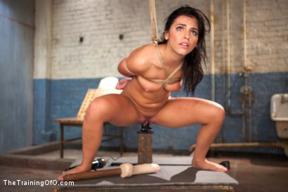 Photo number 8 from The Training of a Model or a Slave? Day One shot for The Training Of O on Kink.com. Featuring Adriana Chechik in hardcore BDSM & Fetish porn.