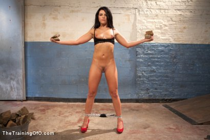 Photo number 4 from The Training of a Model or a Slave? Day One shot for The Training Of O on Kink.com. Featuring Adriana Chechik in hardcore BDSM & Fetish porn.