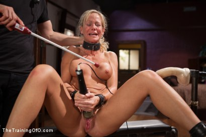 Photo number 14 from The Training of a Domestic MILF, Day One shot for The Training Of O on Kink.com. Featuring Simone Sonay in hardcore BDSM & Fetish porn.