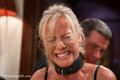 Photo number 5 from The Training of a Domestic MILF, Day One shot for The Training Of O on Kink.com. Featuring Simone Sonay in hardcore BDSM & Fetish porn.