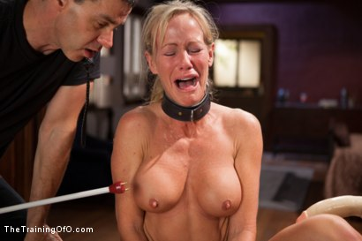 Photo number 15 from The Training of a Domestic MILF, Day One shot for The Training Of O on Kink.com. Featuring Simone Sonay in hardcore BDSM & Fetish porn.