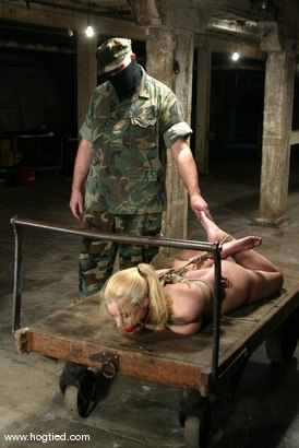 Photo number 13 from Hollie Stevens shot for Hogtied on Kink.com. Featuring Hollie Stevens in hardcore BDSM & Fetish porn.