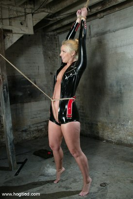 Photo number 3 from Hollie Stevens shot for Hogtied on Kink.com. Featuring Hollie Stevens in hardcore BDSM & Fetish porn.