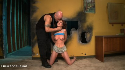Photo number 1 from Working for Orgasms! shot for  on Kink.com. Featuring Derrick Pierce and Riley Shy in hardcore BDSM & Fetish porn.