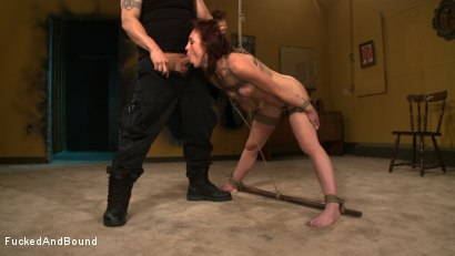 Photo number 10 from Working for Orgasms! shot for  on Kink.com. Featuring Derrick Pierce and Riley Shy in hardcore BDSM & Fetish porn.