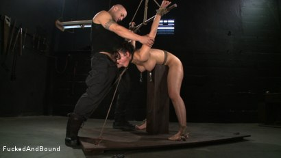 Photo number 1 from No Dirty Words Please shot for  on Kink.com. Featuring Derrick Pierce and Penny Barber in hardcore BDSM & Fetish porn.