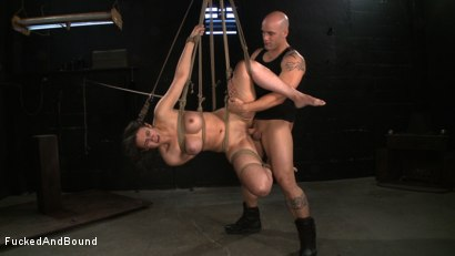 Photo number 11 from No Dirty Words Please shot for  on Kink.com. Featuring Derrick Pierce and Penny Barber in hardcore BDSM & Fetish porn.