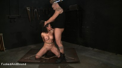 Photo number 14 from No Dirty Words Please shot for  on Kink.com. Featuring Derrick Pierce and Penny Barber in hardcore BDSM & Fetish porn.