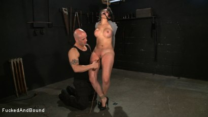 Photo number 17 from No Dirty Words Please shot for  on Kink.com. Featuring Derrick Pierce and Penny Barber in hardcore BDSM & Fetish porn.