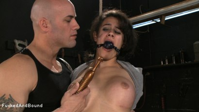 Photo number 18 from No Dirty Words Please shot for  on Kink.com. Featuring Derrick Pierce and Penny Barber in hardcore BDSM & Fetish porn.