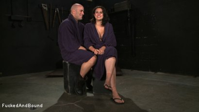 Photo number 5 from No Dirty Words Please shot for  on Kink.com. Featuring Derrick Pierce and Penny Barber in hardcore BDSM & Fetish porn.