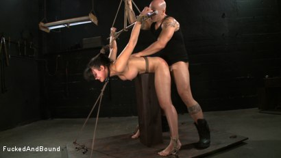 Photo number 9 from No Dirty Words Please shot for  on Kink.com. Featuring Derrick Pierce and Penny Barber in hardcore BDSM & Fetish porn.