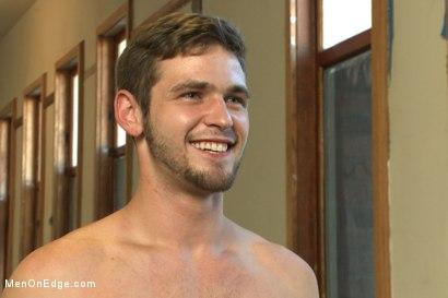 Photo number 15 from Handsome Duncan Black's Huge Load shot for Men On Edge on Kink.com. Featuring Duncan Black in hardcore BDSM & Fetish porn.