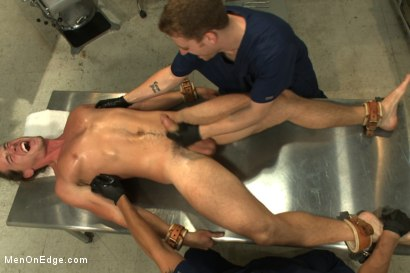 Photo number 4 from Straight Surfer Boy With A Fat Cock shot for Men On Edge on Kink.com. Featuring Kip Johnson in hardcore BDSM & Fetish porn.