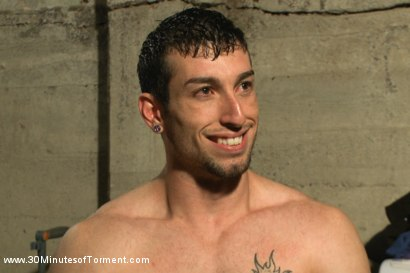 Photo number 15 from Straight stud Casey More - The Chair - The Pit - The Water Chamber  shot for 30 Minutes of Torment on Kink.com. Featuring Casey More in hardcore BDSM & Fetish porn.