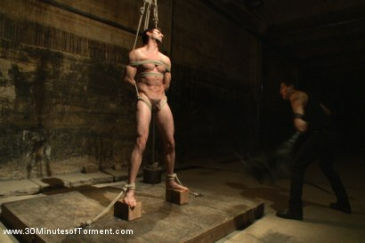 Photo number 9 from Straight stud Casey More - The Chair - The Pit - The Water Chamber  shot for 30 Minutes of Torment on Kink.com. Featuring Casey More in hardcore BDSM & Fetish porn.