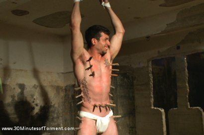 Photo number 13 from Straight stud Casey More - The Chair - The Pit - The Water Chamber  shot for 30 Minutes of Torment on Kink.com. Featuring Casey More in hardcore BDSM & Fetish porn.
