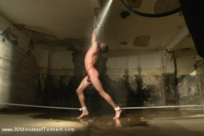 Photo number 4 from Straight stud Casey More - The Chair - The Pit - The Water Chamber  shot for 30 Minutes of Torment on Kink.com. Featuring Casey More in hardcore BDSM & Fetish porn.