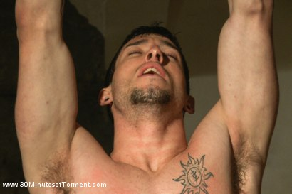 Photo number 5 from Straight stud Casey More - The Chair - The Pit - The Water Chamber  shot for 30 Minutes of Torment on Kink.com. Featuring Casey More in hardcore BDSM & Fetish porn.