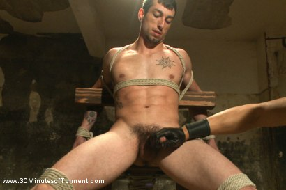 Photo number 8 from Straight stud Casey More - The Chair - The Pit - The Water Chamber  shot for 30 Minutes of Torment on Kink.com. Featuring Casey More in hardcore BDSM & Fetish porn.