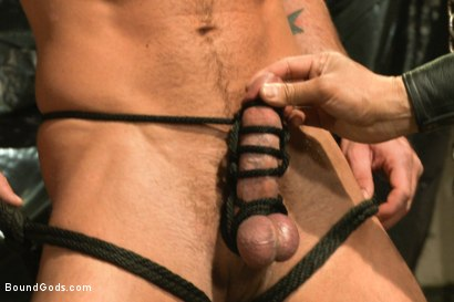 Photo number 4 from Onyx vs Redz - Pre-Folsom Street Fair Live Show shot for Bound Gods on Kink.com. Featuring Van Darkholme, Christian Wilde, Jessie Colter, Alessio Romero and Hayden Richards in hardcore BDSM & Fetish porn.