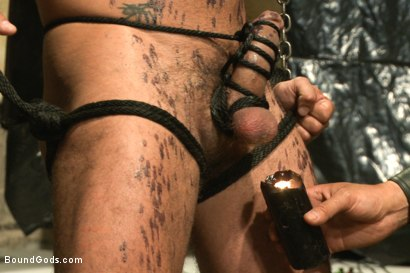 Photo number 7 from Onyx vs Redz - Pre-Folsom Street Fair Live Show shot for Bound Gods on Kink.com. Featuring Van Darkholme, Christian Wilde, Jessie Colter, Alessio Romero and Hayden Richards in hardcore BDSM & Fetish porn.