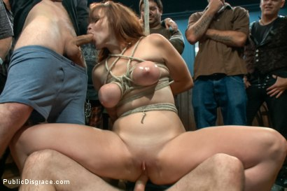 Photo number 8 from Bella Rossi Returns shot for Public Disgrace on Kink.com. Featuring Tommy Pistol and Bella Rossi in hardcore BDSM & Fetish porn.