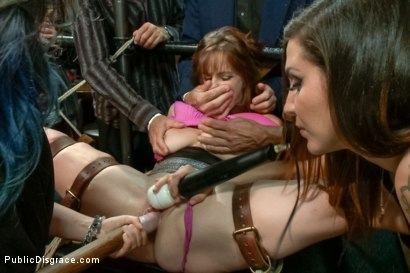 Photo number 10 from Bella Rossi Returns shot for Public Disgrace on Kink.com. Featuring Tommy Pistol and Bella Rossi in hardcore BDSM & Fetish porn.