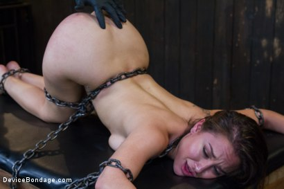 Photo number 8 from Gabriella's Misery shot for Device Bondage on Kink.com. Featuring Gabriella Paltrova in hardcore BDSM & Fetish porn.