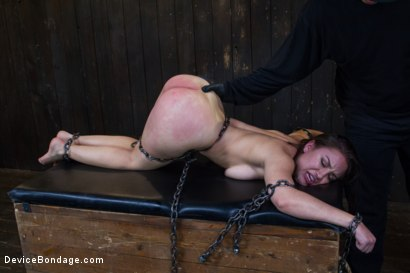 Photo number 7 from Gabriella's Misery shot for Device Bondage on Kink.com. Featuring Gabriella Paltrova in hardcore BDSM & Fetish porn.