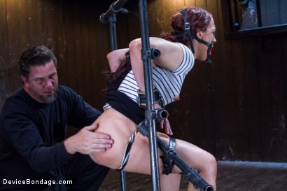 Photo number 2 from Chain Reaction shot for Device Bondage on Kink.com. Featuring Cheyenne Jewel in hardcore BDSM & Fetish porn.