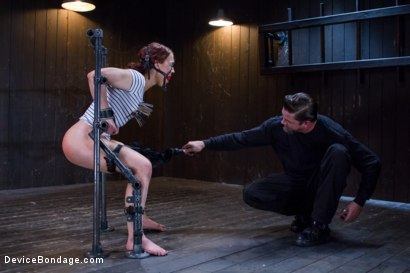 Photo number 4 from Chain Reaction shot for Device Bondage on Kink.com. Featuring Cheyenne Jewel in hardcore BDSM & Fetish porn.