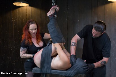 Photo number 2 from Missy Minks-Live Show Edited shot for Device Bondage on Kink.com. Featuring Missy Minks and Mz Berlin in hardcore BDSM & Fetish porn.